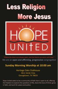 hope United Ad