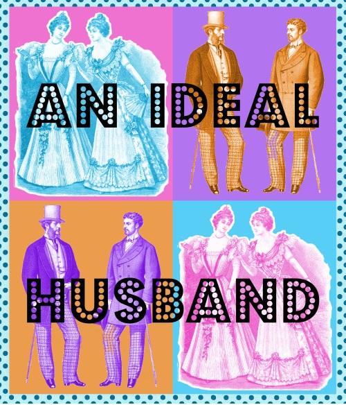 Ideal Husband Poster- logo