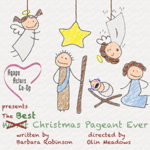 Best Christmas Pageant Logo
